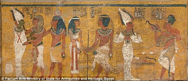 Nefertiti camera funeraria