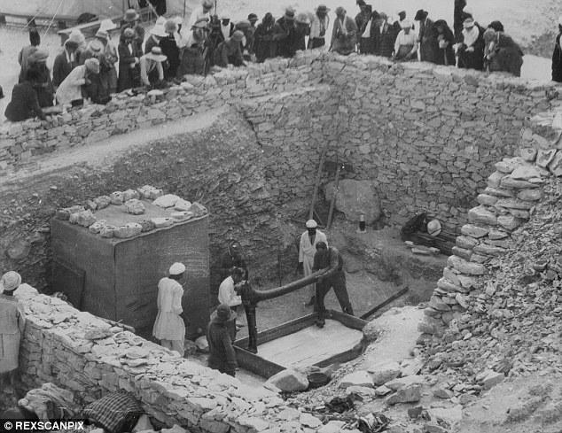 La tomba di Tutankhamen