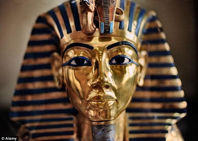 La maschera d'oro di Tutankhamon