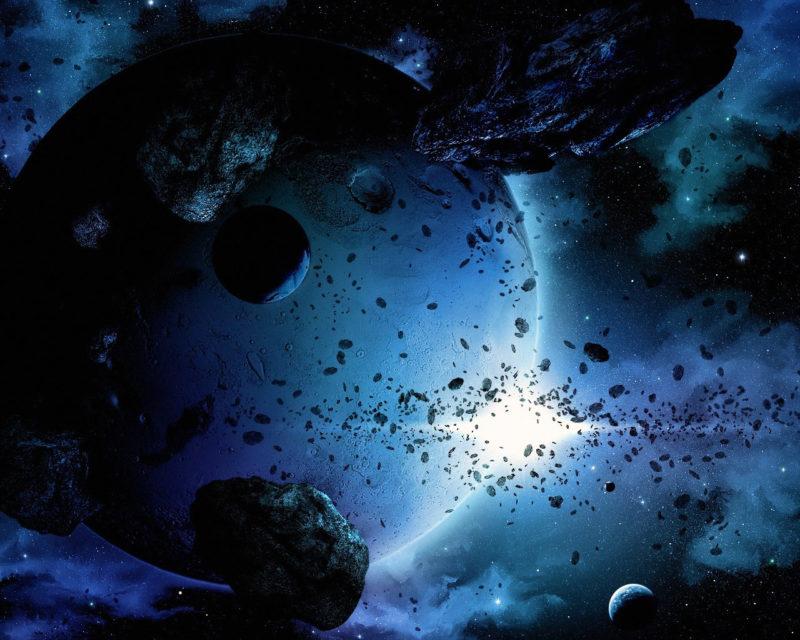 cosmic debris belt