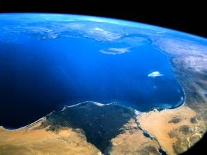 nile delta from the space