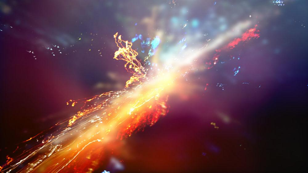 supernova Immagini dallo spazio