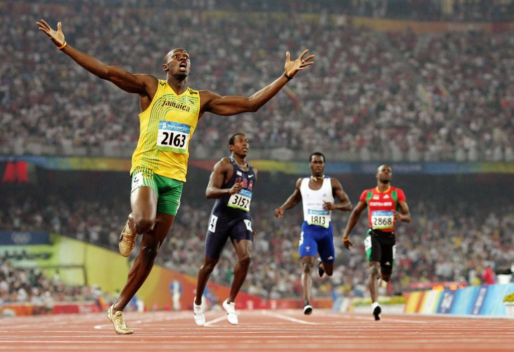 athletics bolt wallpapers background free pictures