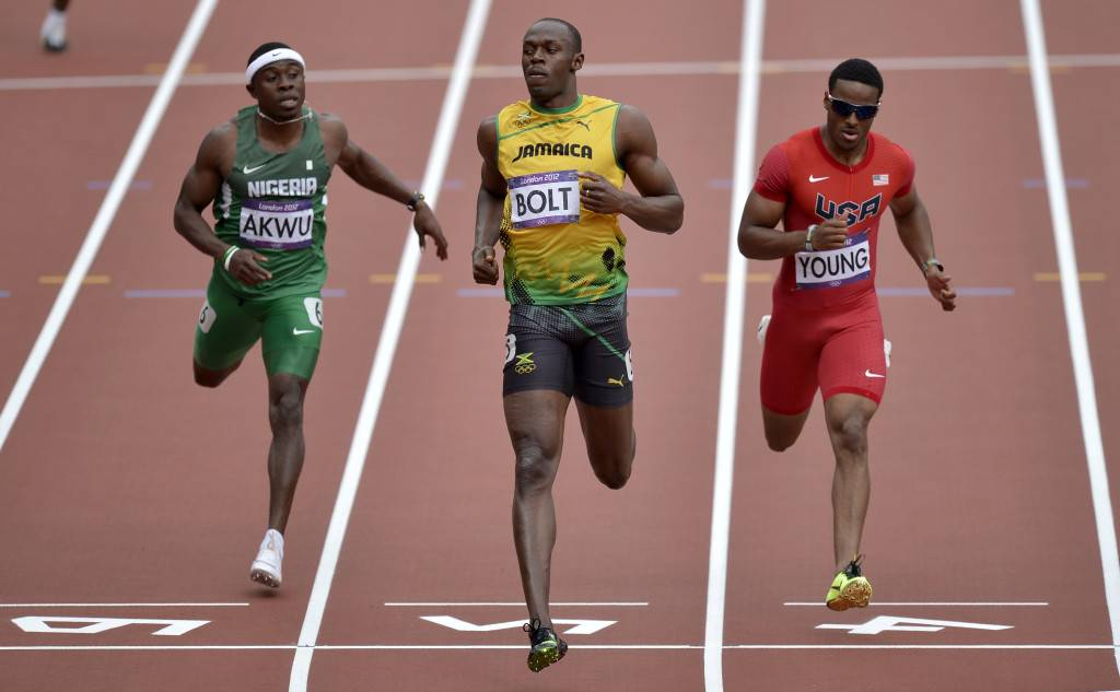 usain Bolt 200 meter dash