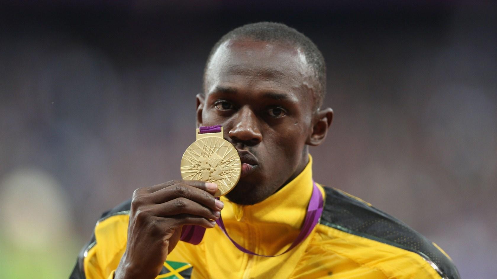 usain bolt gold medal