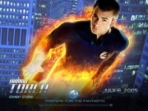 wallpaper fantastic four Johnny storm super poteri dei fantastici quattro