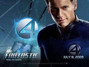 wallpaper fantastic four Reed Richards super poteri dei fantastici quattro