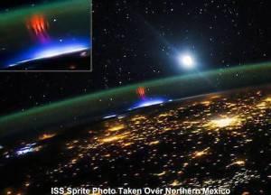 Sprite o spiritelli il misterioso fenomeno registrato dalla Stazione Spaziale Internazionale (Iss)