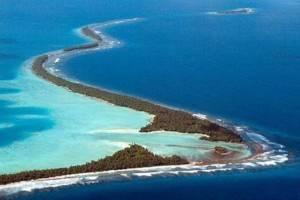 Isola di Tuvalu in oceania