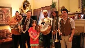 svegliarsi la mattina con una banda Jazz