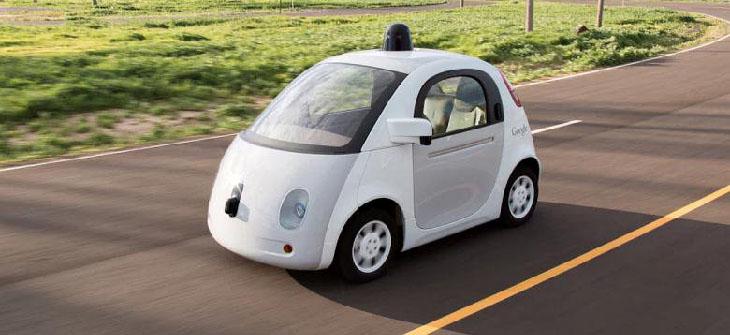 nessuno al volante sulla google car