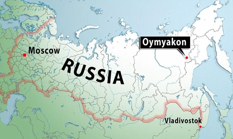 La città più fredda del mondo è Oymyako