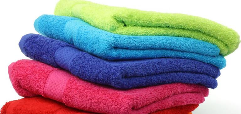 asciugamani e batteri e germi