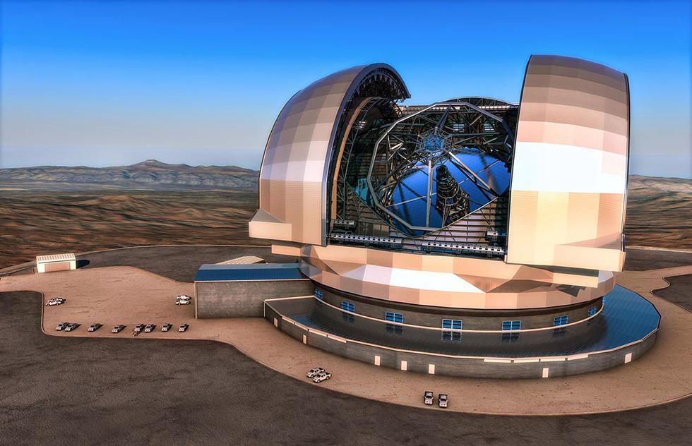Super telescopio E-Elt è italiano