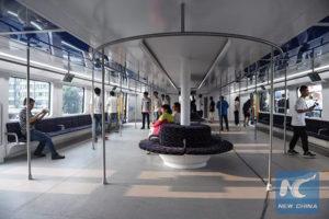 autobus sopraelevato interno