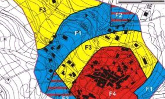 microzonazione sismica mappa