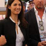 La Sindaca Virginia Raggi e il Direttore Comunicazione Euroma2 Luca Caramella - Foto di Massimiliano Di Maio