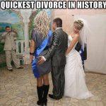 divorzio annunciato prima delle nozze sposo tocca il culo alla testimone