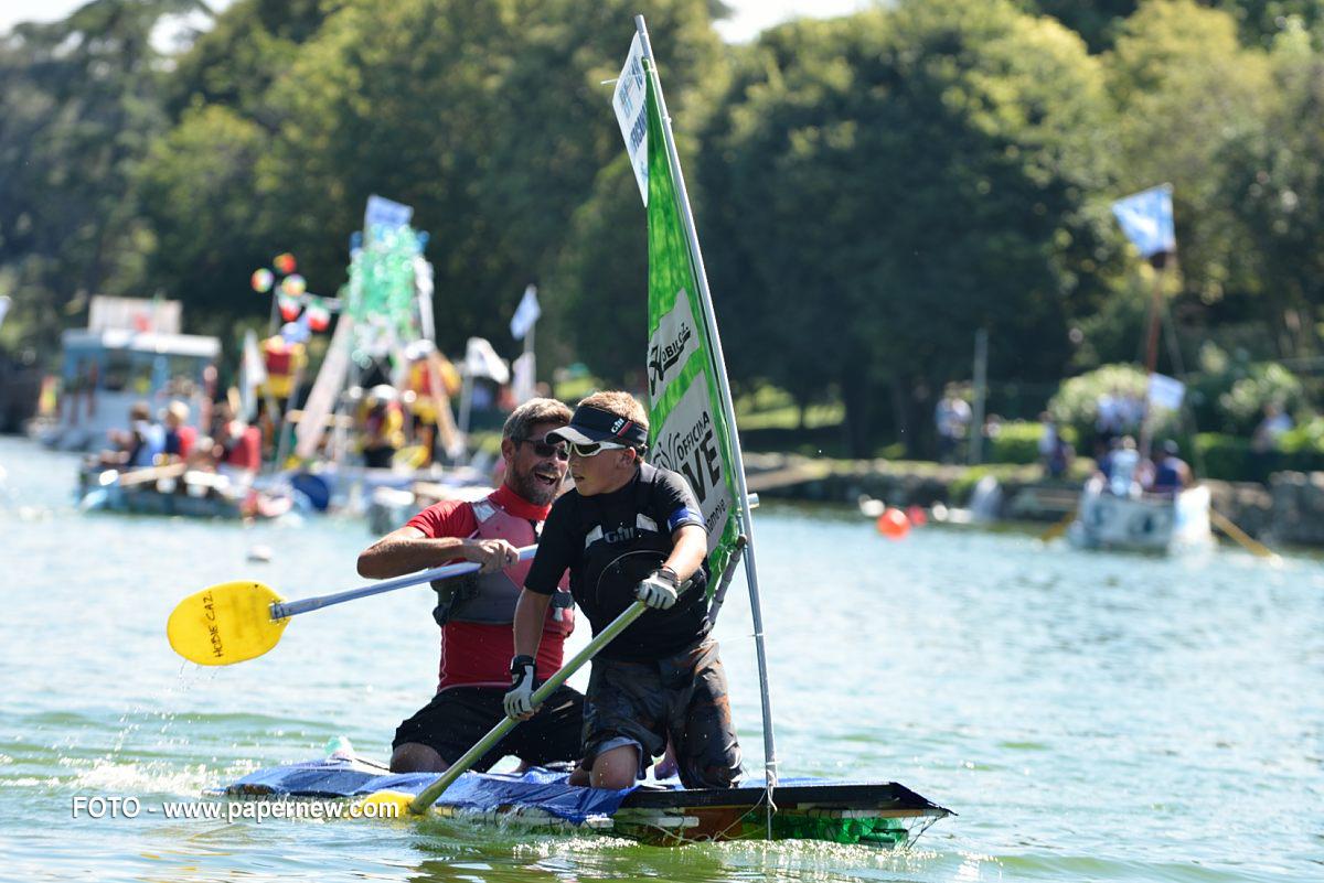 EUROMA2 Green Experience l'ecosostenibilità si apprende divertendosi con LE VOCI DEL BOSCO e la RE BOAT ROMA RACE 2016