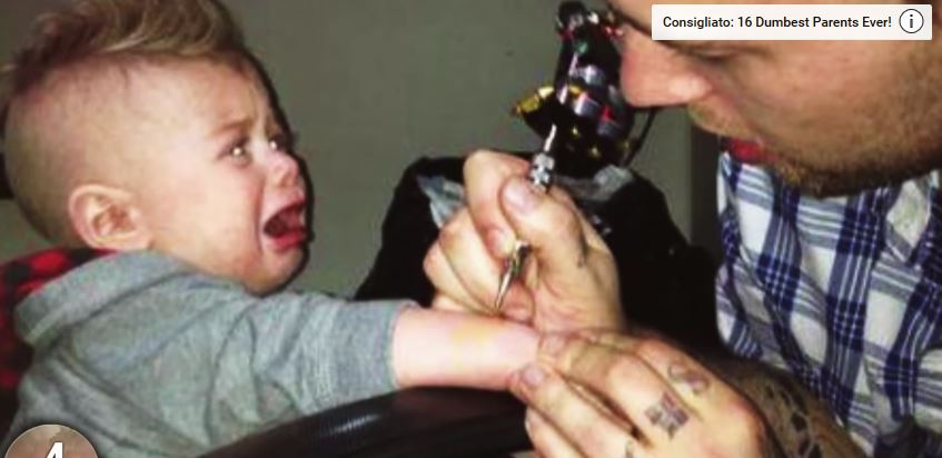 tatuaggio per bambini