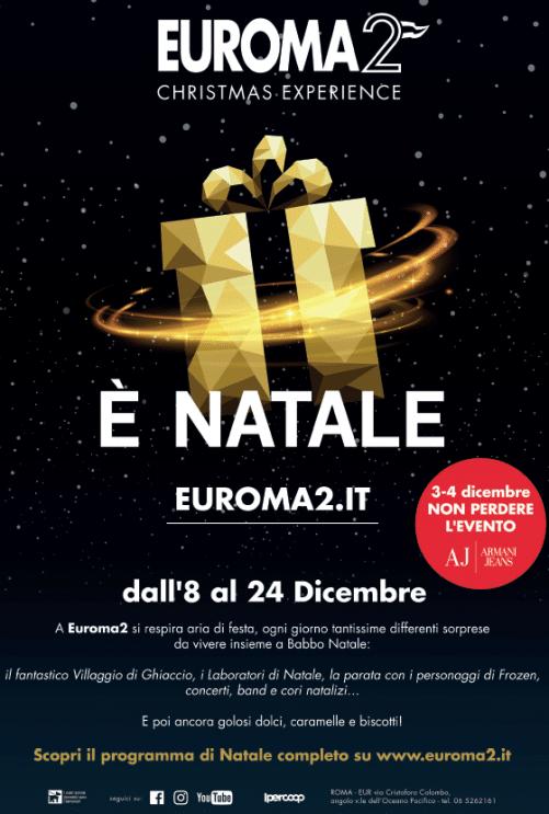 Arriva il Natale di EUROMA2 Christmas Experience per tutta la famiglia 4