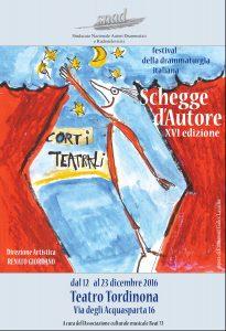 schegge d'Autore al teatro Tordinona. Festival della Drammaturgia Italiana