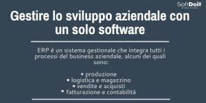 SoftDoit Gestire l'intero processo aziendale con un solo software