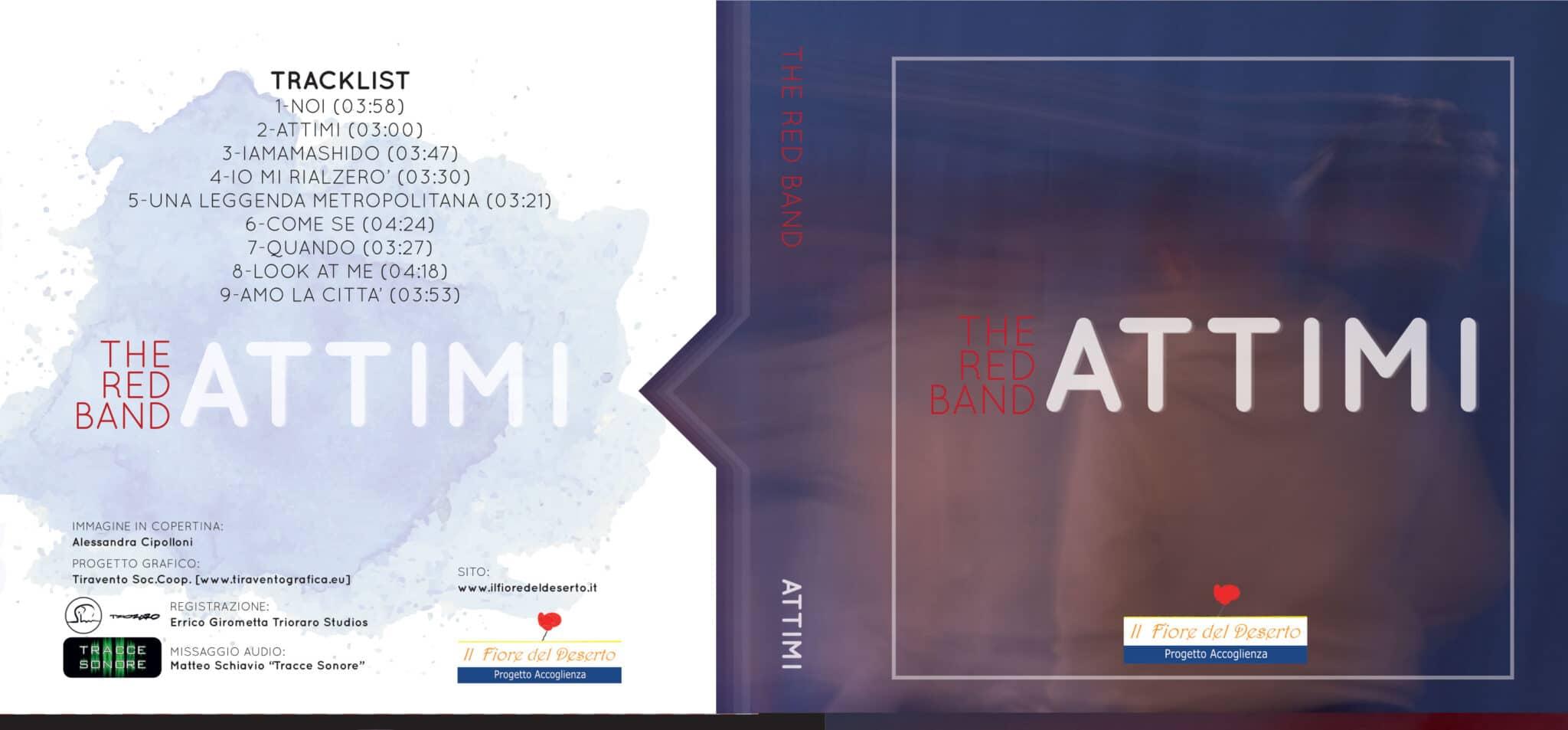 """IAMAMASHIDO Concerto per la presentazione del CD """"Attimi"""" della The Red Band 1"""