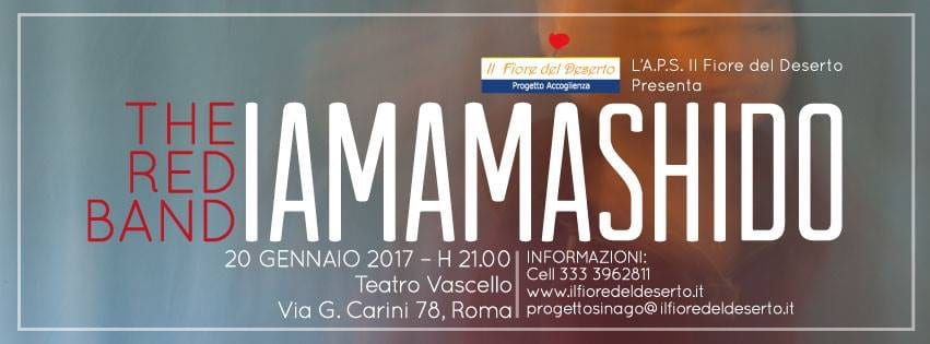 "IAMAMASHIDO Concerto per la presentazione del CD ""Attimi"" della The Red Band"