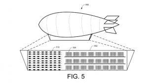 Magazzini volanti simili ai dirigibili e consegne pacchi con i droni il progetto di Amazon 1