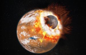 Nuova teoria sull'origine della luna