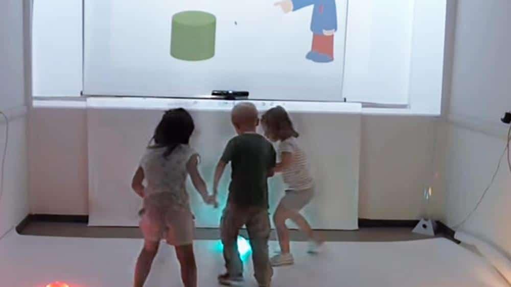 Stanza multisensoriale interattiva per la cura dell'autismo