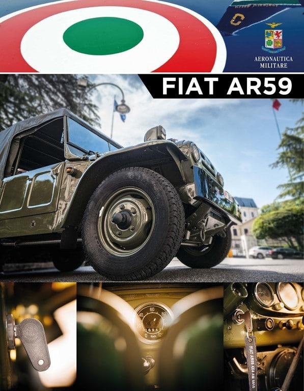 Grande esposizione di veicoli militari e un omaggio alla 90° edizione della mille miglia 2