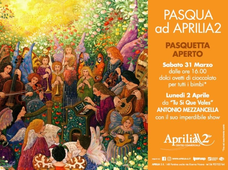 Una Pasqua all'insegna di musica e uova di cioccolato ad Aprilia2