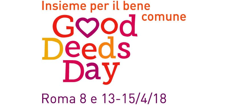Good Deeds Day - 13-15 aprile 2018 ripuliamo Roma 1