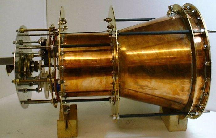 La NASA crea per caso un campo di distorsione 1