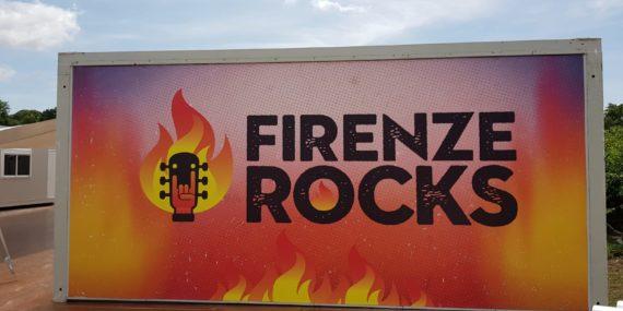 Elettra Officine Grafiche al Firenze Rocks 2018: stampa tipografica al servizio della musica rock!
