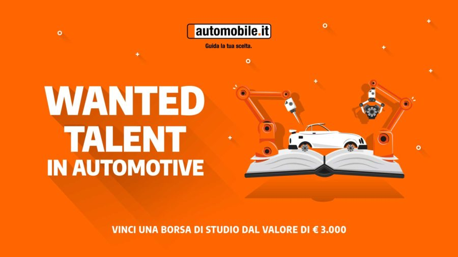 Wanted Talent in Automotive-borsa di studio per studenti