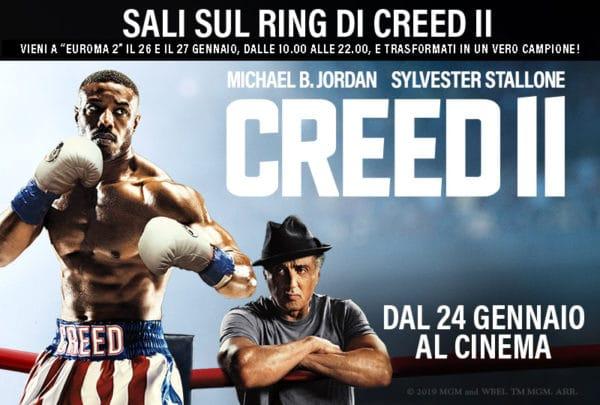 Creed2 conMichael B. Jordan, Sylvester Stallone e Tessa Thompson