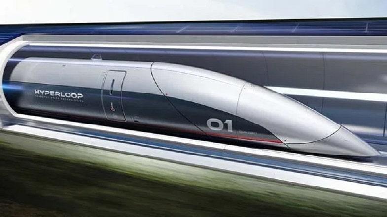 Treno Hyperloop alta velocità