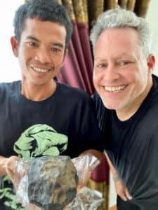 Asteroide colpisce casa e diventa milionario Josua Hutagalung e Jared-Collins