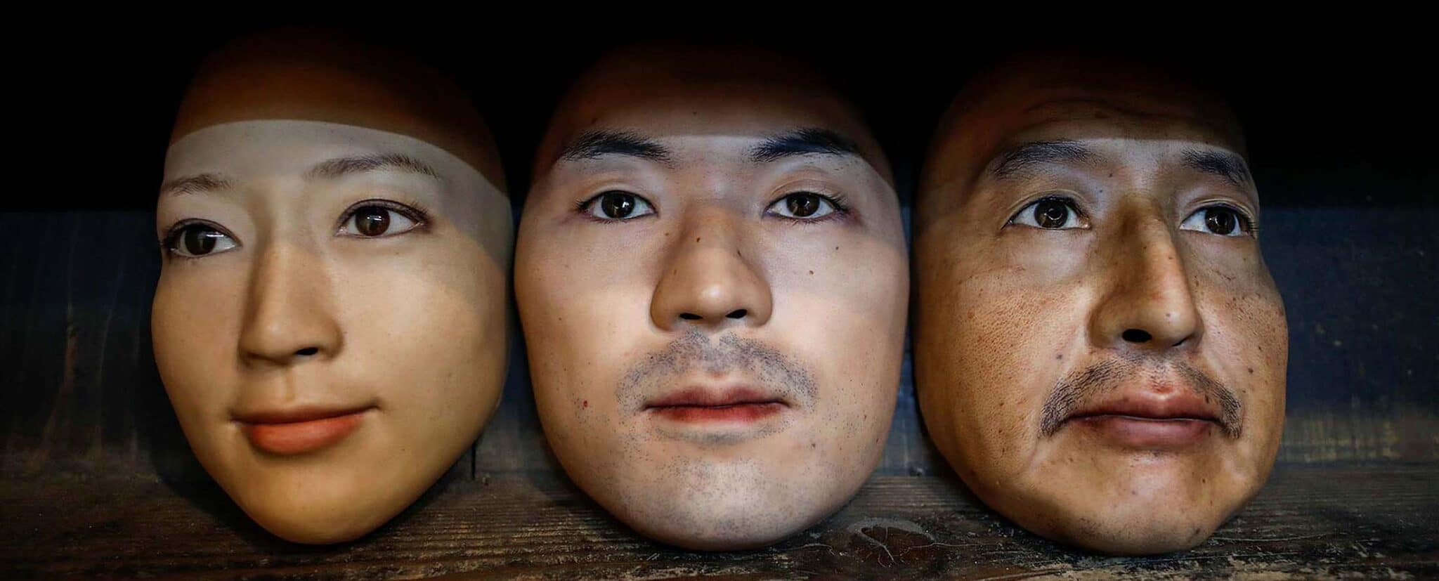 maschere realistiche stampate in 3D